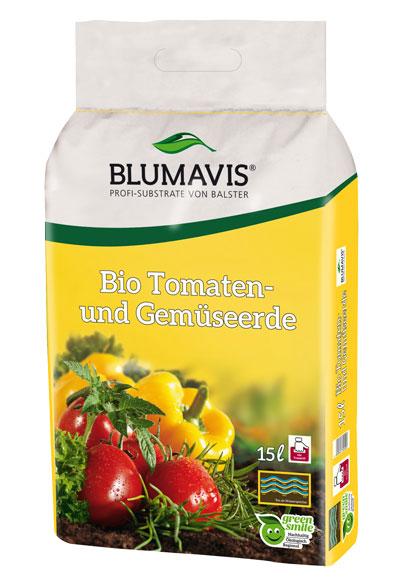 Bio Erde für Tomaten und Gemüse