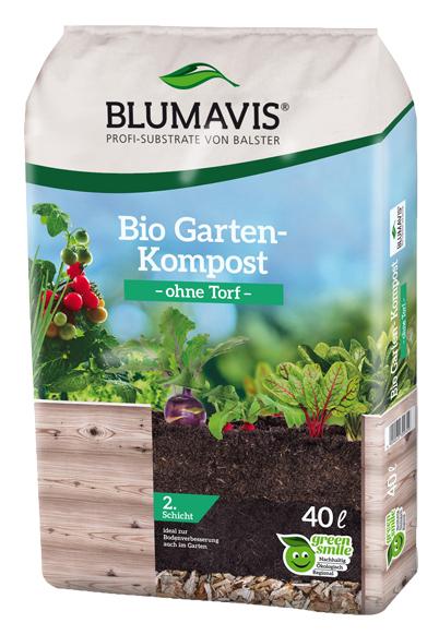 Bio Gartenkompost